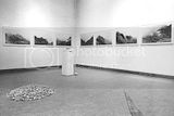Installation,color photographs,lead,rocks and gravel,1979.